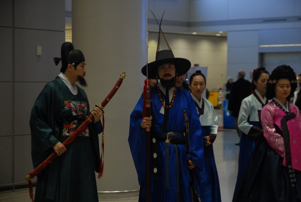 Procession in the Airport