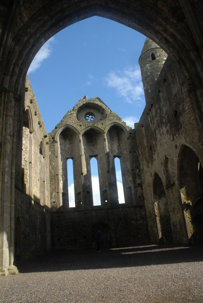 A portion of the Rock of Cashel